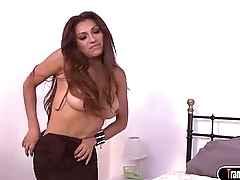 Ts escort Jessy Dubai sucked n analed by a firsttime client