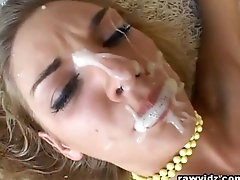 Bunch Of Big Cocks Spanking My Face