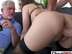 Hard Sex Pretence With Lovely Cheating Sexy Housewife (riley reid) video-24