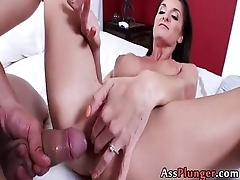 Silvia Saige - Milf Takes It In Her Asshole