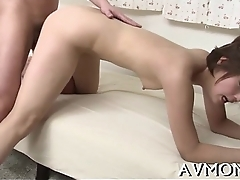 Sting shaggy asian deepthroat action
