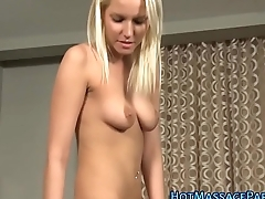 Teen masseuse bukkaked
