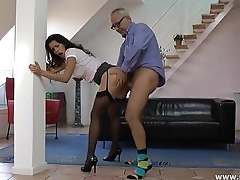 Samia duarte and superannuated fucking