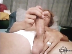 Kip Noll wake up and jerking-off