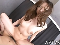 Racy sexy oriental pussy toying