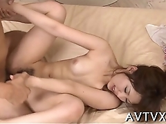Fantastic and wild oriental oral job