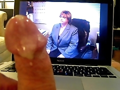 BBW Cum Tributes for wifes big tits and nipps