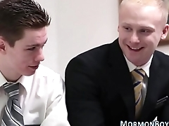 Secretly gay mormon cums
