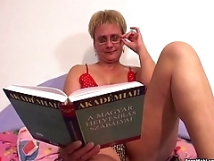 Old With an increment of Young Sex With Hot Granny