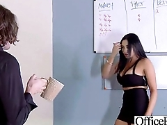 Hard Sex In Office With Chunky Round Boobs Sluty Girl (audrey bitoni) video-04