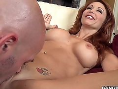Smoking Redhead MILF Monique Alexander