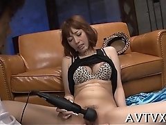 Exquisite and soaked oriental blowjob