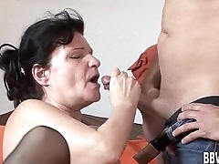 Fat german milf gets fucked