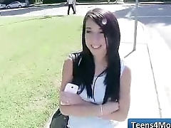 Teens Love Money fucked in Public - www.Teens4Money.com NEW Porn Movie 16