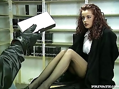 Andrea Assfucked in the voyeur'_s Private Room