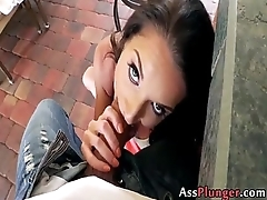 Anal Slut Silvia Saige - Milf Takes It In The Ass 000129