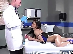 Horny Patient (veronica rodriguez) Acquiesce in To Doctor And Get Hard Style Bang clip-29