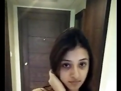hot together with cute indian girl naked walk at hotel