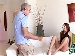 Turn Dad Fucks His Flirty Teen Daughter
