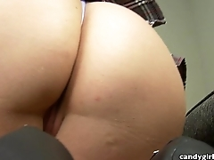 Anabelle Pync POV Upskirt while talking to you