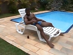 Overwrought the Pool (Interracial)