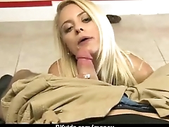 Sex for cash turns shy girl into a slut 25