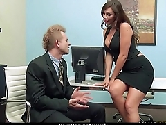 Co-workers testing lots of hard fucking at work 6