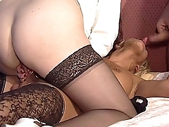 Jessica Rizzo and her husband fucking with a hot transsexual
