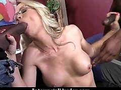 Girl gets punished by a huge black cock 21
