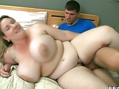 Horny burglar screws fat cunt