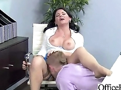 Lovely Worker Slut Girl (casey cumz) With Round Big Boobs Bang In Office clip-12