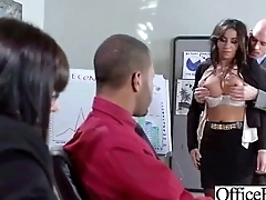 Superb Woker Girl (stephani moretti) With Chubby Tits Succeed in Hard Sex In Office clip-30