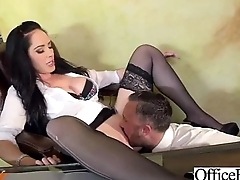 Superb Woker Girl (bella maree) With Big Tits Get Hard Sex In Office clip-07