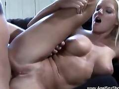 Perfect Blonde Euro Sister Anal
