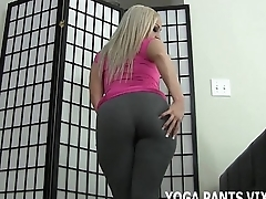 Let me tease your blarney with my tight yoga pants JOI