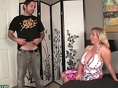 Boy Fucking not his Dam Huge Tits Milf