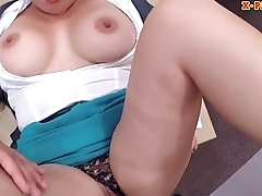 Busty wife drilled by nasty pawn keeper