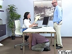 Hardcore Action In Office With Big Tits Slut Naughty Girl (casey cumz) vid-12