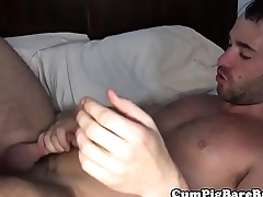 Cocksucking wolf getting his tight ass rammed