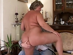 That'_s how I fuck my mature fat wife!