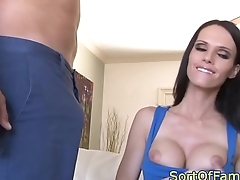 Bigtitted mother in law cockriding young guy