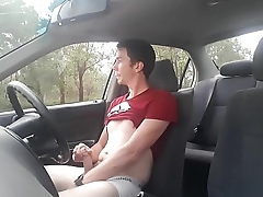 Car Jerk off 3