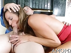 Large load of shit is what mom fantasies about
