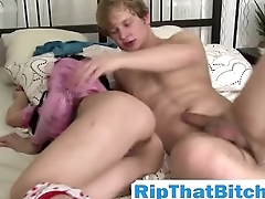 Roxanne Mercer Riding stiff long dong hardcore