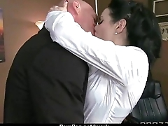 Milf was hard fucking at bottom office desk 29