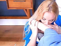 Anneliese Snow Submissive Anal Bondage Part 2